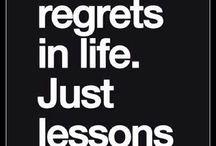 Citation et leçon de vie