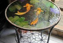 mesas mosaico