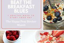 Beat the Breakfast Blues! / Brekkie Recipes!