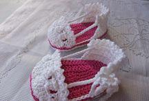 Zapatitos / Zapatos de bebés .  Kinderschuhe