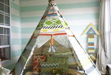 teepee and tents