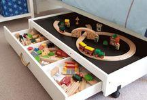Rangement jouets / Astuces de rangement de jouets