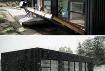 Container et maison