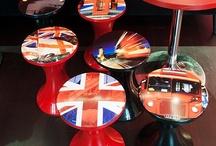 Британика / Коллекция предметов интерьера и декора с символикой Лондона и Великобритании в целом.