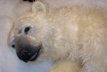 Белые медведи / авторские мишки