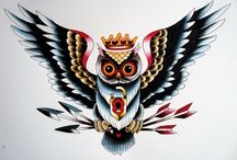 tatoo sowa