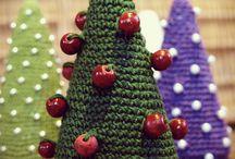 Bożonarodzeniowe różności / Ozdoby i dekoracje świąteczne robione ręcznie