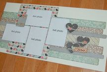 Scrapbooking - Layouts - Double