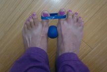 Feet work out healing !