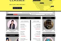 Website Design  / Website Design Inspiration