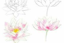 desenhar flores