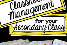 Classroom Management and Organization / This board is full of great Classroom Management and Organization ideas for the middle school and high school classroom. Stick around to find resources, FREE downloads, inspiration, tips, and more. {6th, 7th, 8th, 9th, 10th, 11th, and 12th grade approved!}