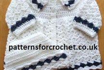 Baby. Coat and hat crochet