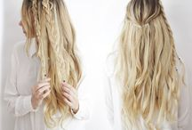 Tresses / Beautiful hair ideas, color and tips and tricks to beautiful, youthful hair!