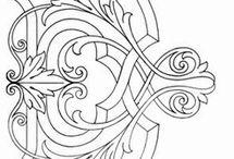 Ornamentos/elementos decorativos