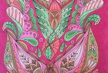 Zen coloring / Zen, mindfulness
