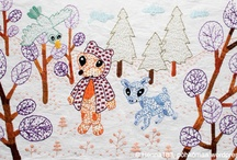 My Embroidery / embroidery, crafts, illustration / by Henna