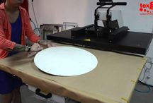 Dye Sublimation on Metal Panel / How to customized artworks on metal panels by Dye Sublimation.