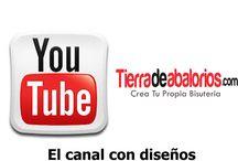 Canal Tutoriales Youtube / Nuestro Canal en Youtube donde encontrarán los video-tutoriales mas completos, donde enseñaremos técnicas y diseños para que hacer tu bisutería sea más fácil