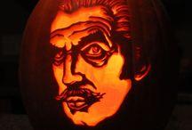 Vincent Price Halloween Pumpkins