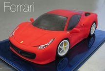Ferrari cakes