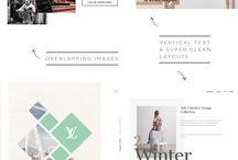 Web design/Graphic design