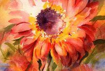 akvarell painting
