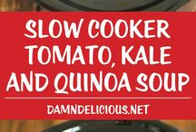 slow cooker and soups