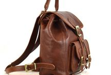 Leather Backpacks & Purses