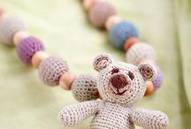 ~ Crochet nursing necklace ~