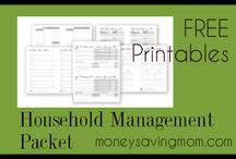 Home Management  / by Christi Wilson