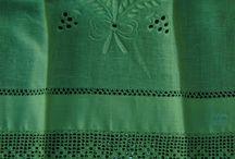 Crochet, embroidery etc.