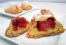 Bollos de leche rellenos de fresa o brioches(receta casera) / las mejores recetas http://golosolandia.blogspot.com.es/2013/04/Bollos-de-leche-rellenos-fresa-brioches-receta-casera.html