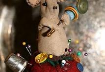 *Creations from Wool Felt* / Crafty Creations to knit and felt, sew felt, etc. / by Sarita Coffman