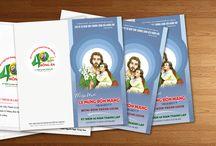 Thiết kế ấn phẩm Lễ Mừng Bổn mạng Ca đoàn Giuse - Giáo xứ Thánh Nguyễn Duy Khang