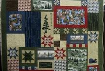 2009 Quilt Minnesota Shop Hop / Year number three. Fabrics designed by Windham Fabrics.