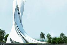 Architektura przyszłości / Futurystyczna architektura i urbanistka.