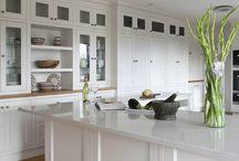 Quartz worktops / Contemporary & classical styles using gorgeous quartz worktops