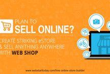 eCommerce website design / http://www.webstarttoday.com/website-builder/free-online-store-builder/