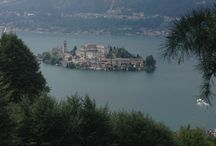 Les lacs Italiens en voiture de collection / Les lacs Italiens, Lac d'Orta, Lac d'Iseo, Lac de Côme, Lac de Garde, Lac Majeur, la SP38, routes panoramiques,