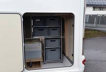 VAN Sliding storage 80/20 box