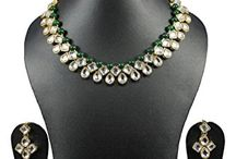 Wedding Party Kundan Indian Bollywood Women Necklace Set