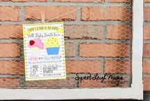 Gender Reveal Invitations / Gender Reveal Invitations - DIY Printable Invitations - Boy or Girl Party - Gender Reveal Party