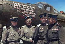 20TH -WW2-SOVIET PILOTS