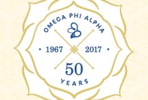 50th Anniversary History / Omega Phi Alpha is celebrating 50 years as a national organization on June 15, 2017.