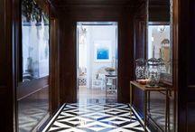 Flooring for foyers