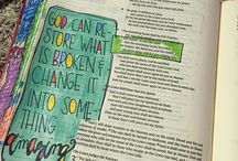 *Joel--Bible Journaling by Book / Bible Journaling examples from the book of Joel