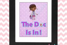 Doc McStuffins Theme Party / by Sweet Party Nyomi