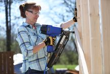 Woodshop / Knock out carpentry projects quickly and easily using your air compressor.