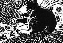 Lino Print / Linoleum prints